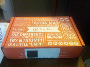 Isn't this bright orange box pretty? And so inspirational!